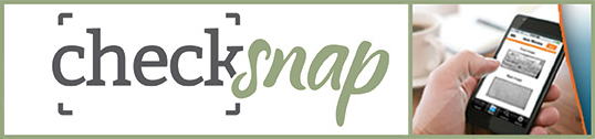 Check Snap logo.